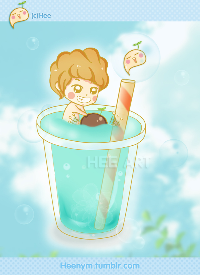 Fan art ChanBaek by LuluChopper