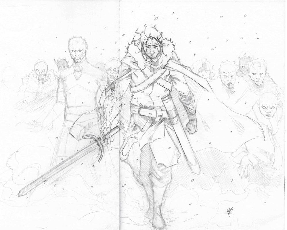 Jon Snow by FukuroBen
