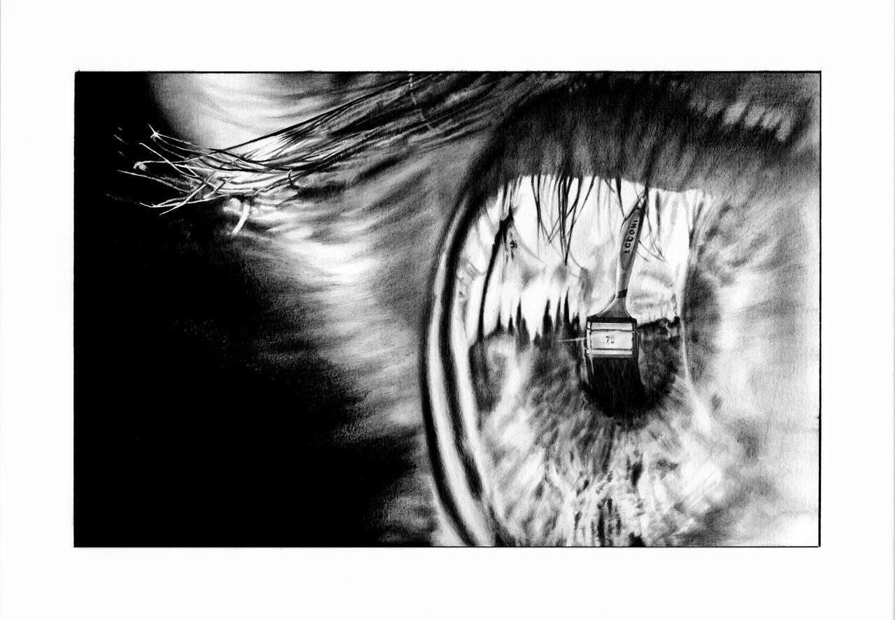 Through an ordinary eye by Trichardsen