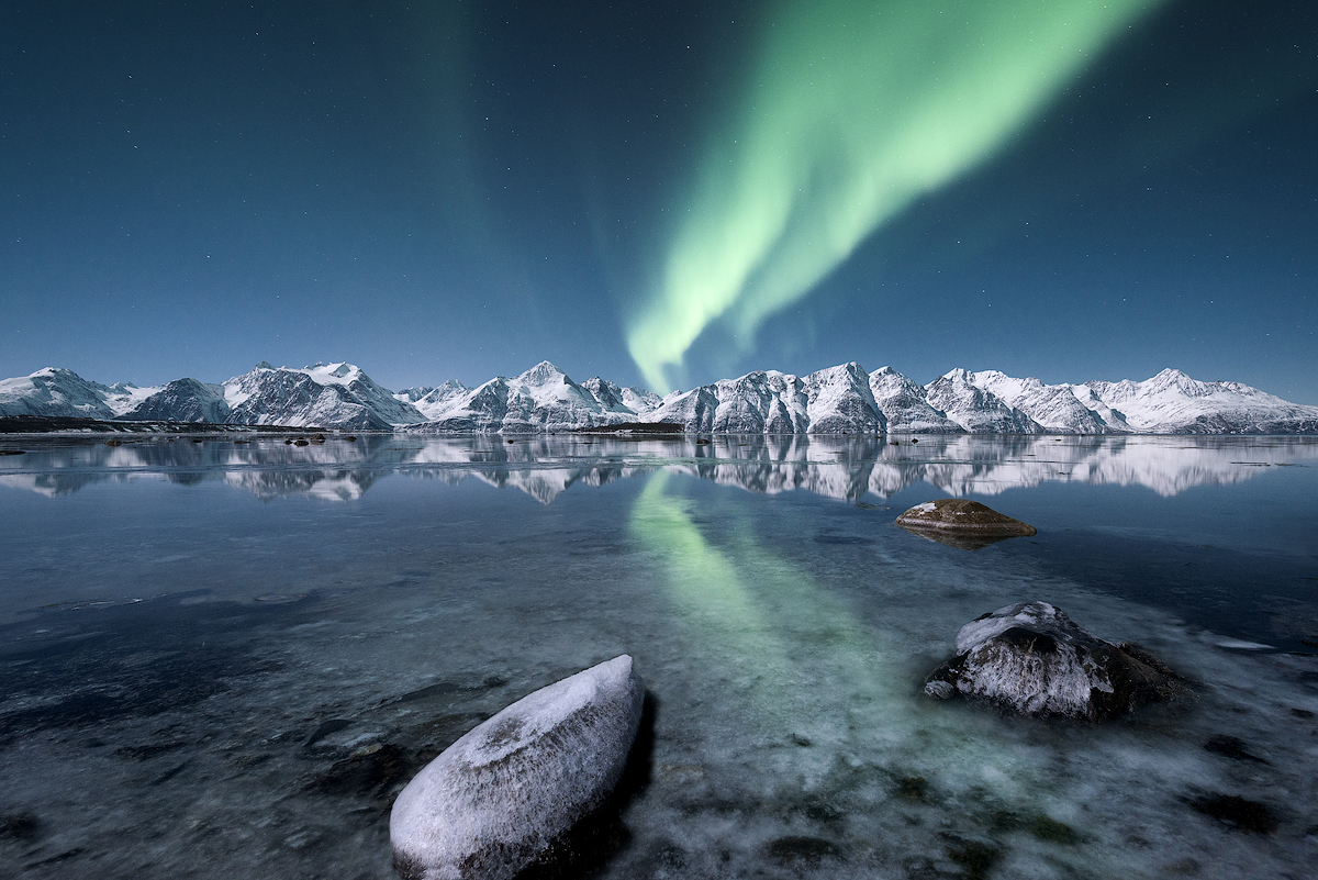 Arctic lights by Trichardsen