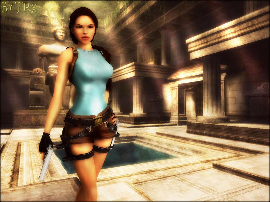 Tomb Raider Anniversary Wallpaper 02 By TRXNALARA