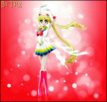 Super Sailor Moon (Wallpaper 01) by TRXNALARA