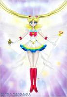 Super Sailor Moon (Wallpaper 03) by TRXNALARA