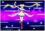 Rainbow Moon Heart Ache (Wallpaper 02) by TRXNALARA