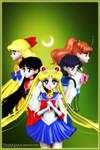 Sailor Senshi (Moon Series Part 1)