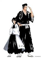 Rukia and Sentaro by 912naruhina