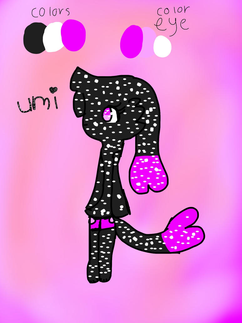 Umi ref sheet by fluffybunny332