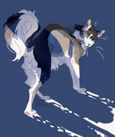 Commission | Witheredwolf by nai-yen
