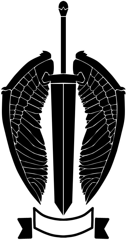 nameless winged sword logo by rennistora on deviantart