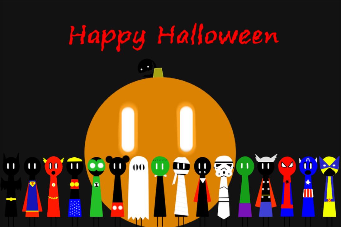 A very Denizen Halloween 2014 by RennisTora