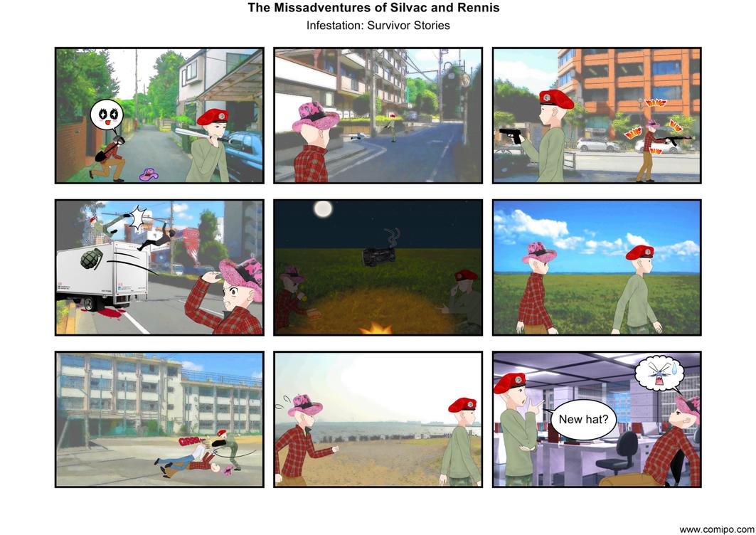The Missadventures of Silvac and Rennis 17.5 by RennisTora