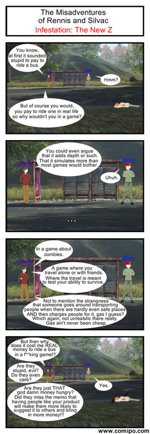 The Misadventures of Rennis and Silvac 20