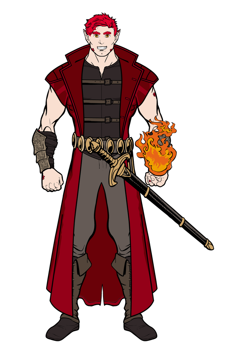 CharacterSheetPortrait2 by RennisTora