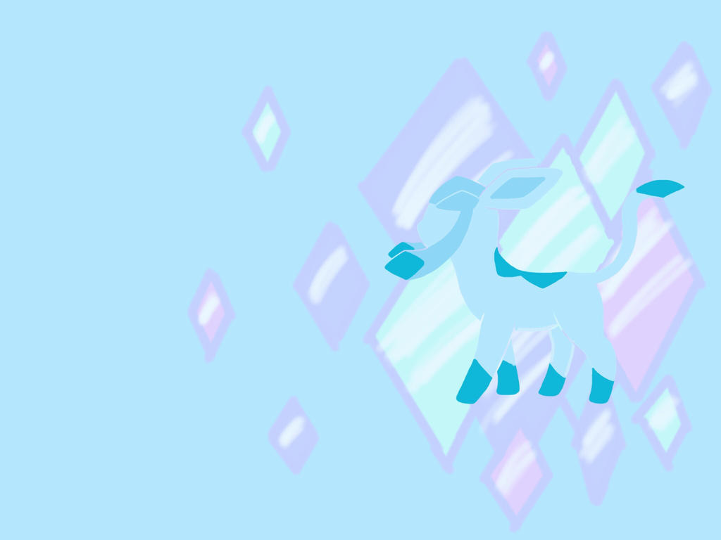 Glaceon Background - Landscape by MadSk3tch