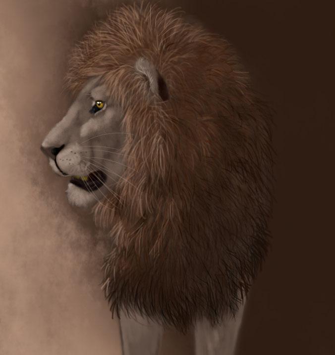 Lion by Grisluka