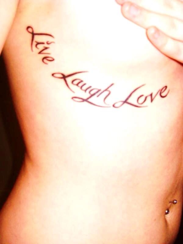 Live laugh love tattoo i 39 m looking for a tat by for Live love laugh tattoo