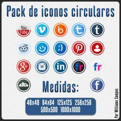 Pack De Iconos Circulares