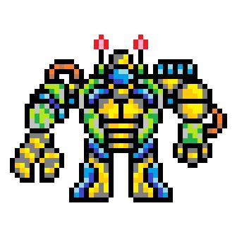 BumbleBot Mech X32 by ChesireX42