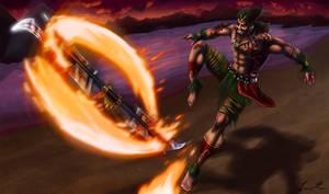 Firedancer Draven New Splash Art