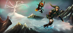 Snowpeak Snowboarding - Twilight Princess