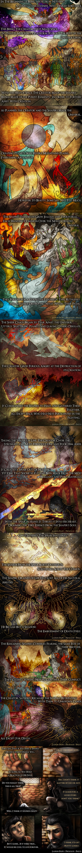 The Immortal's Shard - Prologue Pages 1-8 by Dargonite