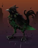 Request - Twilit Raven by Dargonite