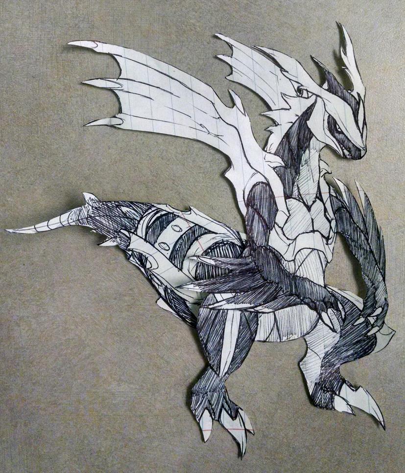 Kyurem Complete Pen Doodle by Dargonite