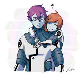 Dulse and Zossie - Colored by Dargonite