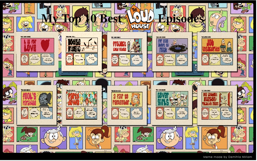 10 Best House Plans Of August 2017: Top 10 Best Loud House Episodes (August 2017) By