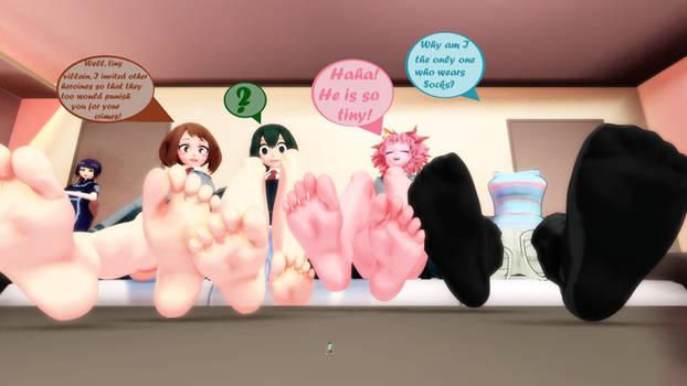 My academia with giantesses