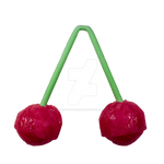 Cherry Lollypop PNG
