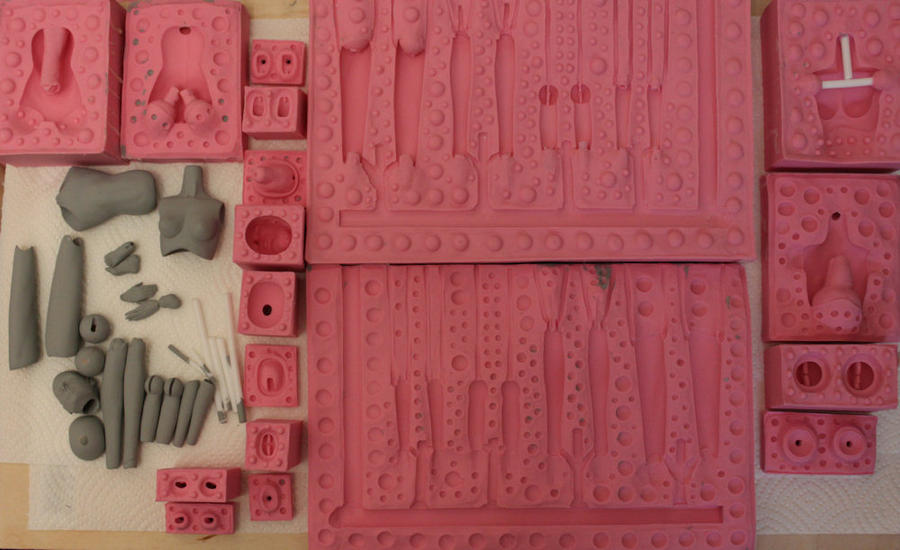 a full set of doll molds.. by BishonenHouse