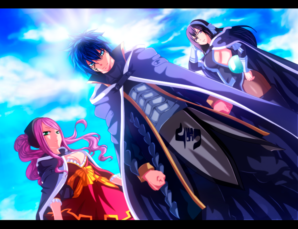 Meredy, Jellal and Ultear - Commission by TempestDH on ...