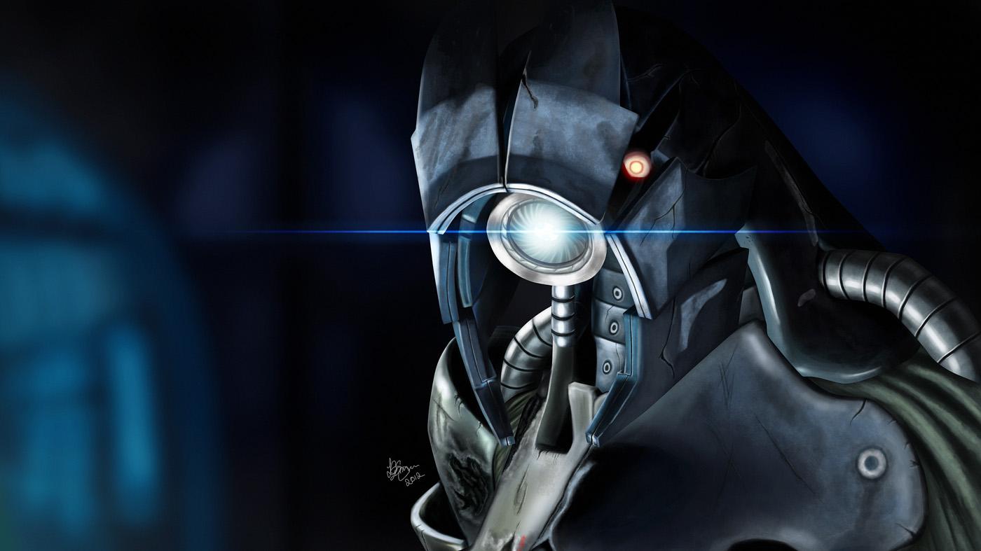 Legion - Mass Effect by Unam-et-solum
