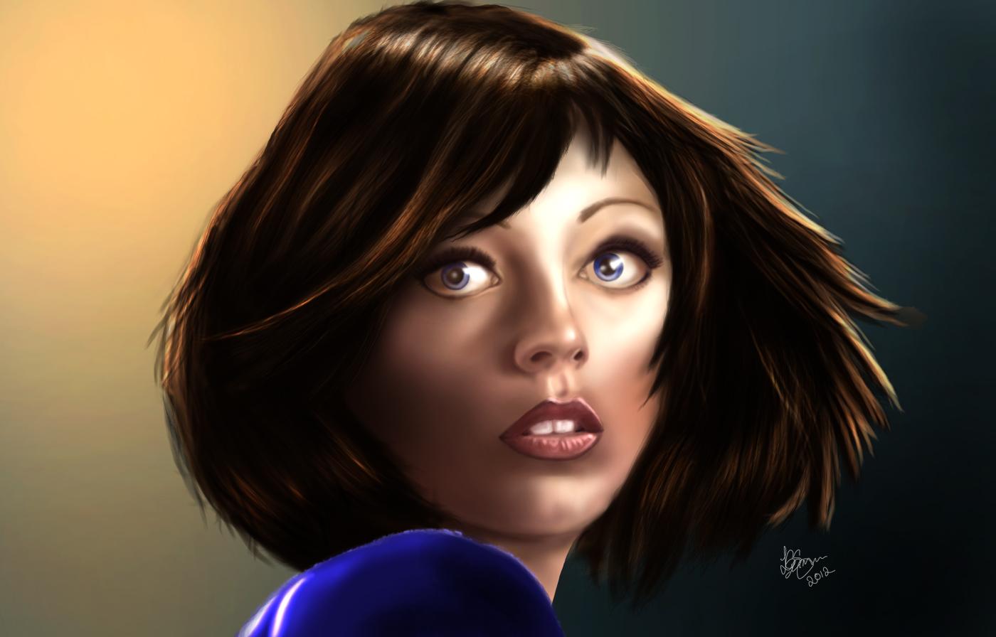 Elizabeth - Bioshock Infinite by Unam-et-solum