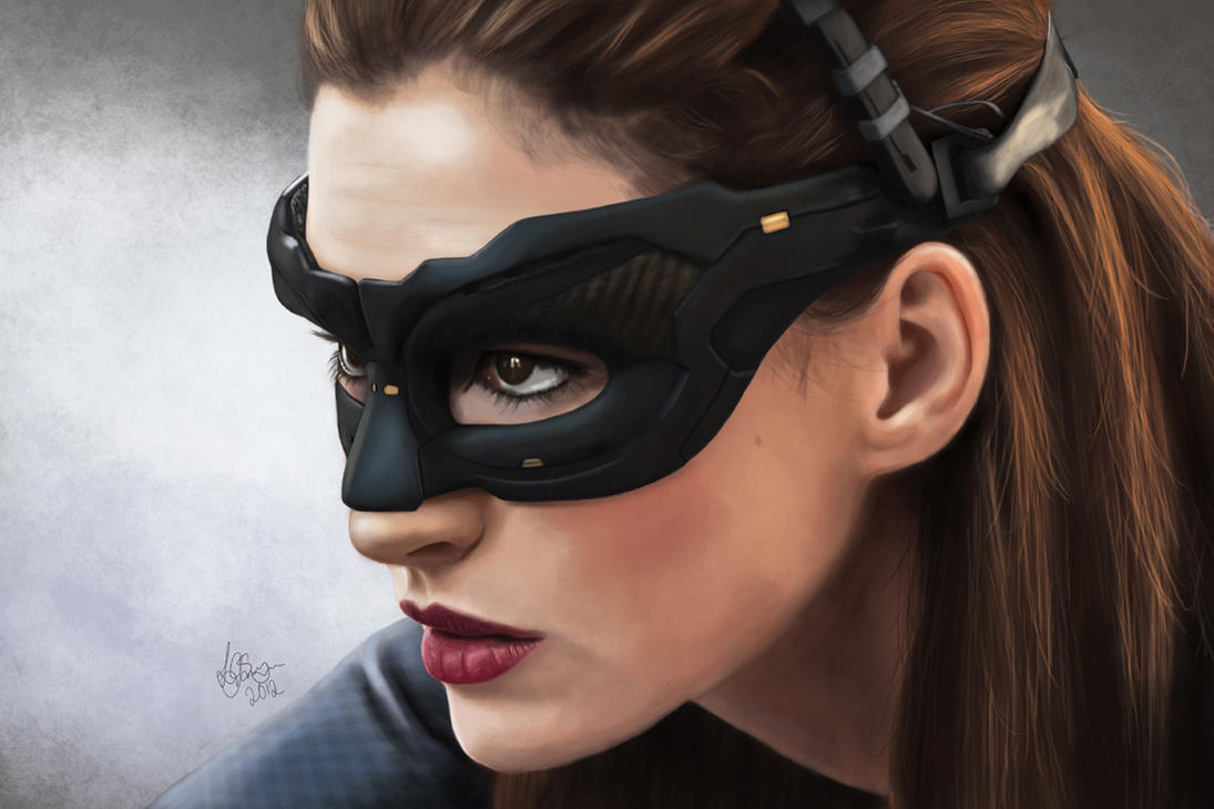 Selina Kyle / Catwoman - Anne Hathaway by Unam-et-solum