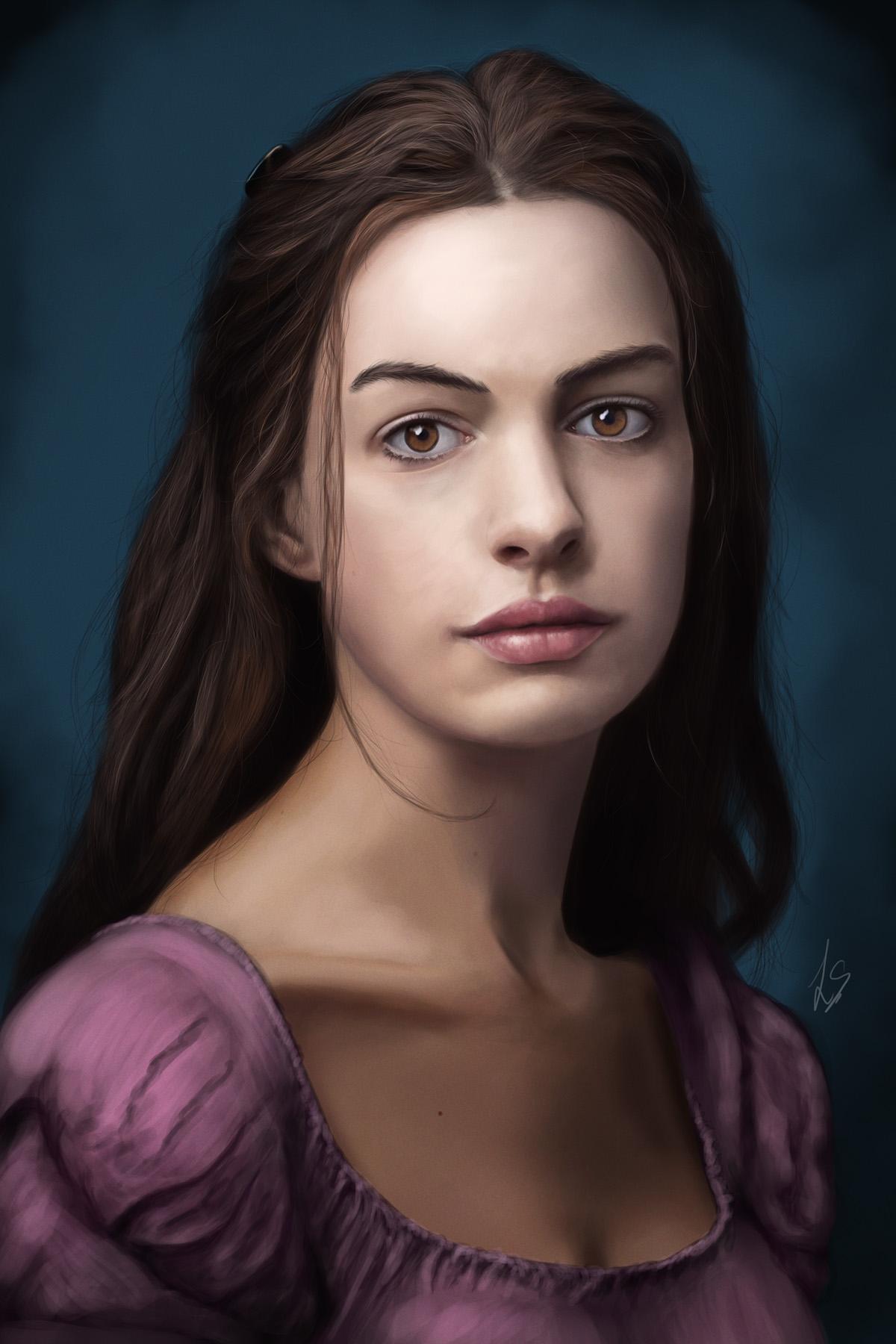 Anne Hathaway - Fantine - Les Miserables by Unam-et-solum