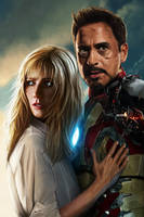 Iron Man 3 by Unam-et-solum