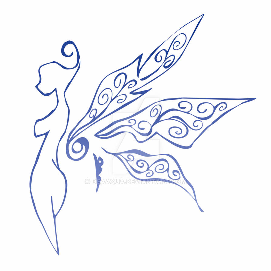 Fairy Tattoo by deaaqua