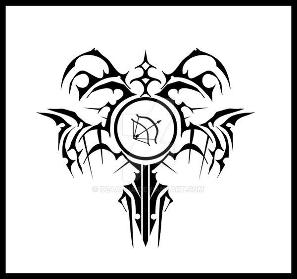 Dark Hunter Tattoo by deaaqua