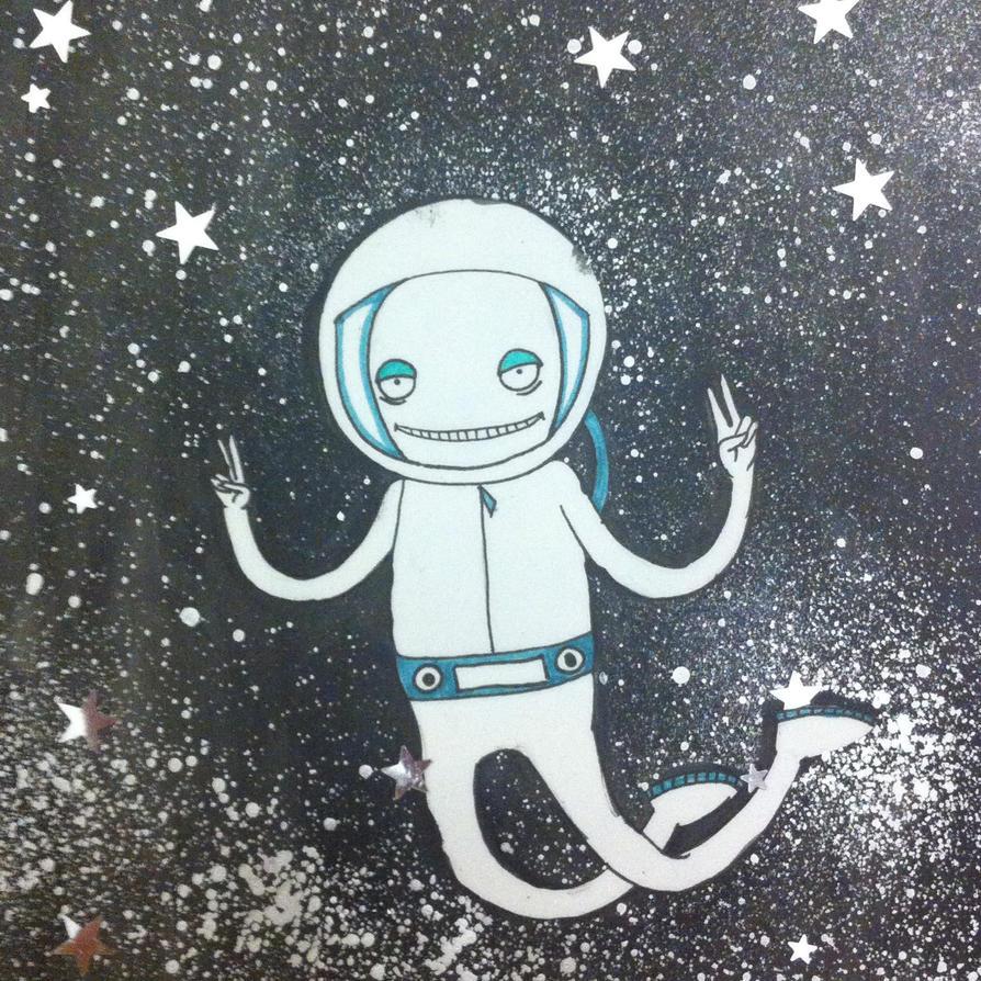 Space Dude by KurshTheChosenOne