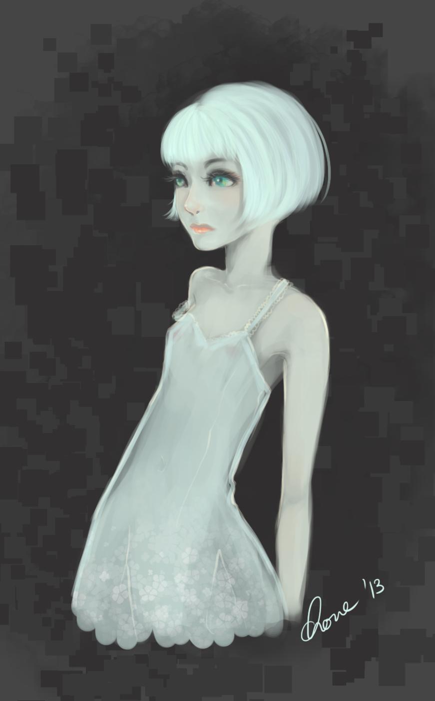 Girl by yeucherie