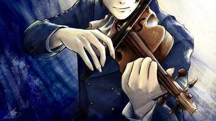 APH - Melody of a violin by Cowslip
