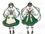Vocaloid - Design [The Transient Apple Salesgirl]