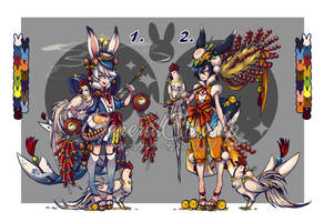 [CLOSED] Adoptable Auction - Year of the Rooster by Cowslip