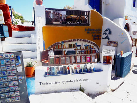 Oia's Bookshop