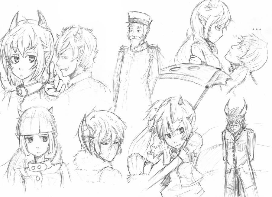 Algunos dibujos con acuarela...:D Sketch_wizarddemon_by_ek9000-d4i7mqu