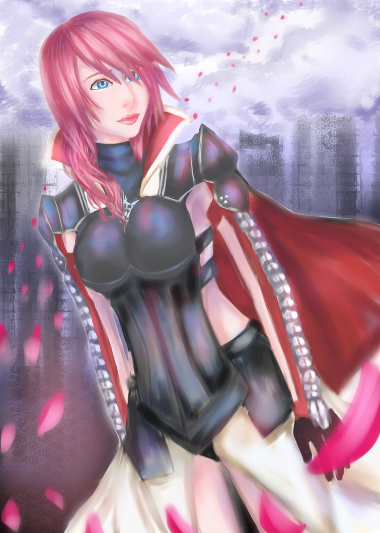Lightning(Eclair Farron) by MsHoThEaD