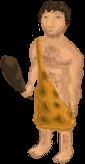Caveman game character by AhmedElyamani
