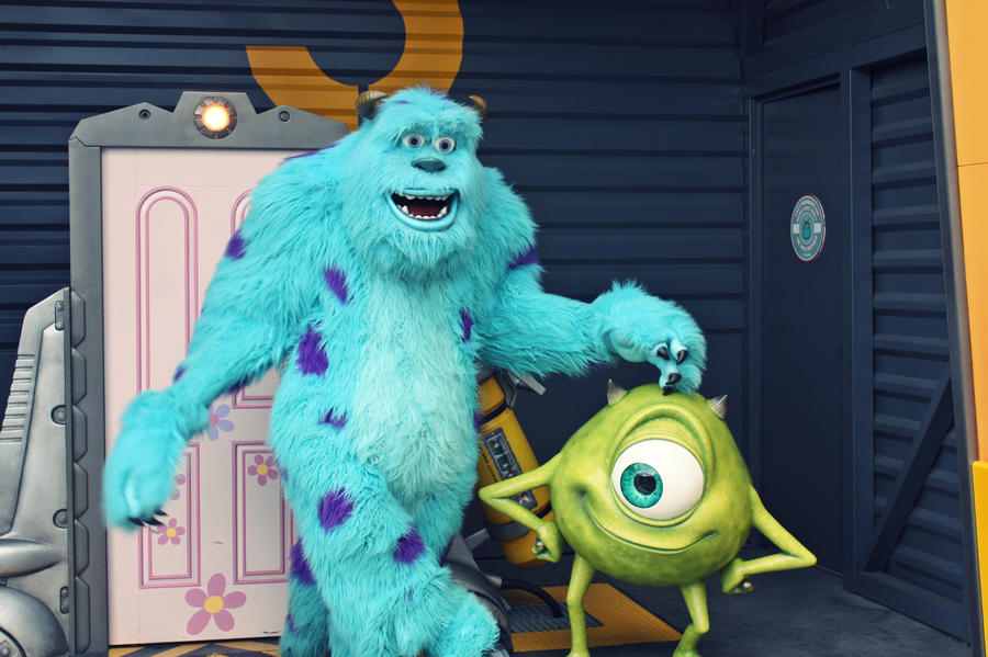 Sully And Mike By Mlle-Dreamer On DeviantART
